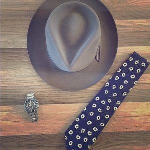 GAP | Tie | Navy | Flower Pattern